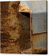 Aging With Rust Canvas Print