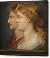 Agrippina And Germanicus Canvas Print