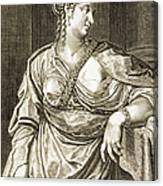 Agrippina Wife Of Tiberius Canvas Print