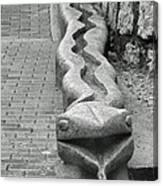 Aguas Calientes Snake Canvas Print