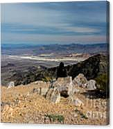 Aguereberry Point View Of Death Valley #4 Canvas Print