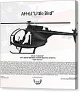 Ah-6j Little Bird Night Stalkers Canvas Print