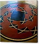 Ahwahnee Hotel Floor Medallion Canvas Print