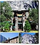 Ahwahnee Hotel In Yosemite National Park Canvas Print