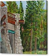 Ahwahnee Woods Canvas Print