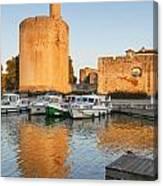 Aigues-mortes  Languedoc-roussillon France Constance Tower Canvas Print