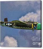 Air Apaches B-25j Canvas Print