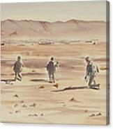 Air Assault Insertion Canvas Print