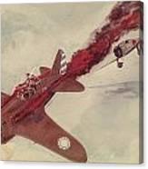 Air Combat Canvas Print