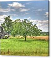 Air Conditioned Barn Canvas Print