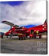 Air Greenland Canvas Print