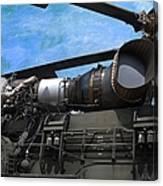 Air - Helicopter - Ch-54 Skycrane - Tarhe  Canvas Print