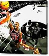 Air Jordan Rises Canvas Print
