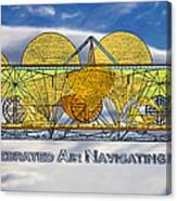Air Navigating Machine Canvas Print