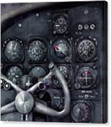 Air - The Cockpit Canvas Print