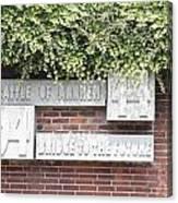 Airborne Monument In Arnhem Canvas Print
