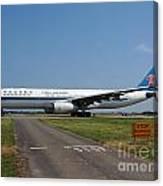 Airbus A330 Canvas Print