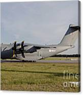 Airbus A400m For The French Air Force Canvas Print