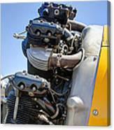 Aircraft Engine 3 Canvas Print
