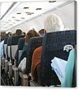 Airline Travel. Canvas Print