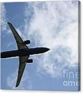 Airplane IIi Canvas Print