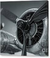 Airplane Propeller - 02 Canvas Print
