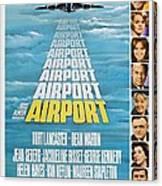 Airport Canvas Print