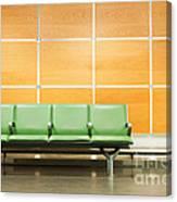Airport Seats Canvas Print