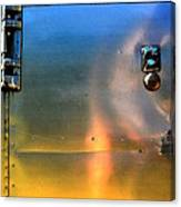 Airstream Sunset Canvas Print