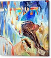 Akedas Yitzchak Canvas Print