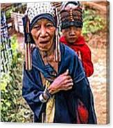 Akha Tribe II Paint Filter Canvas Print