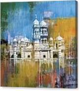 Al Haadi Al Sufi Mosque Canvas Print