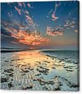 Al Hamra Sunset Canvas Print