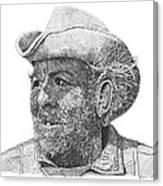 Cowboy Al Holman  Canvas Print