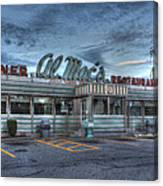 Al Mac's Diner Canvas Print