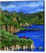 Al Mafi Coast Italy Canvas Print