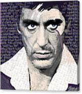 Al Pacino Again Canvas Print