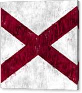 Alabama Flag Canvas Print