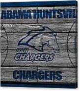 Alabama Huntsville Chargers Canvas Print