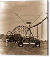Alabama Irrigation System Vignette Canvas Print