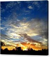 Alabaster Sky Canvas Print