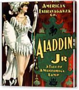 Aladdin Jr Amazon Canvas Print