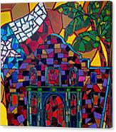Alamo Mosaic Canvas Print