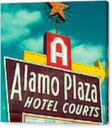 Alamo Plaza Hotel Dallas Canvas Print