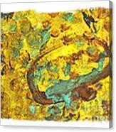 Alana Circles Canvas Print