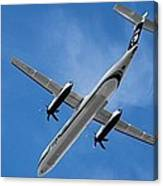 Alaska Airlines Turboprop Wide Version Canvas Print