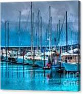 Alaska Boats Canvas Print