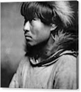 Alaska Eskimo Man, C1906 Canvas Print