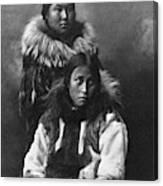 Alaska Eskimos, C1903 Canvas Print