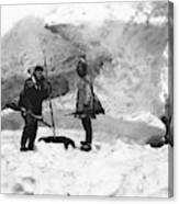 Alaska Hunters Canvas Print